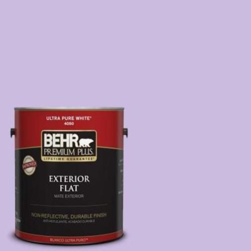 BEHR Premium Plus 1-gal. #P570-2 Confetti Flat Exterior Paint