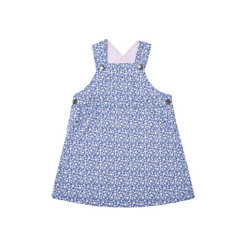 Ditsy Dungaree Dress by JoJo Maman Bb