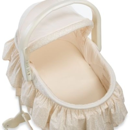 TL Care Knit Fitted Bassinet Sheet Made with Organic Cotton in Natural