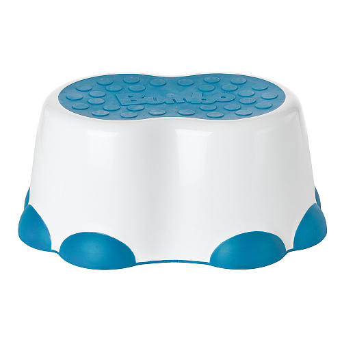 Bumbo Step Stool - White/ Blue