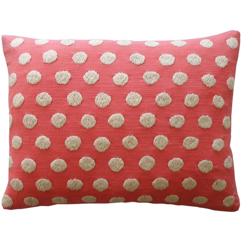 Puff Pillow Coral