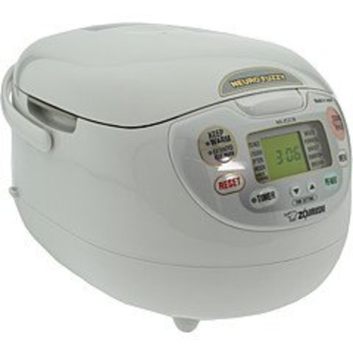 Neuro Fuzzy Rice Cooker/Warmer in Premium White