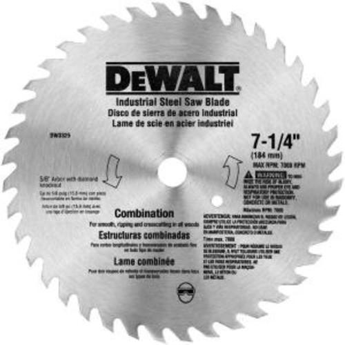 DEWALT 7-1/4 in. 40-Teeth Steel Combo Saw Blade