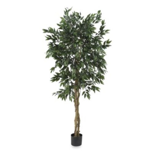 Nearly Natural 5-Foot Potted Silk Smilax Tree