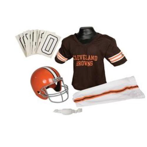 Franklin Sports NFL Browns Uniform Set - Medium