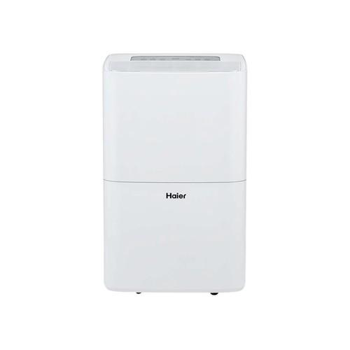 Haier - 70-Pint Portable Dehumidifier - White