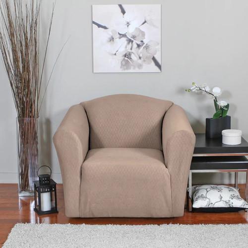 Diamond Stretch Chair Slipcover