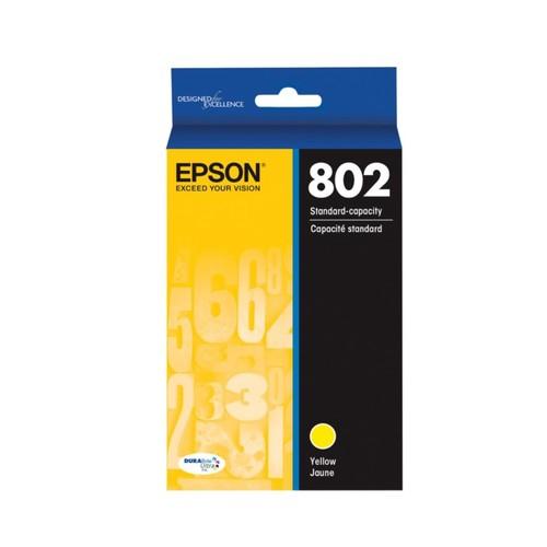 Epson DuraBrite Ultra T802420-S Yellow Ink Cartridge