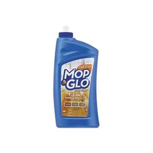 MOP & GLO 89333CT Triple Action Floor Cleaner, Fresh Citrus Scent, 32 oz Bottle (Case of 6)