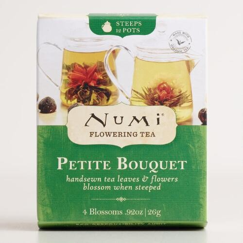 Numi Flowering Tea Refill, 4 Tea Bags