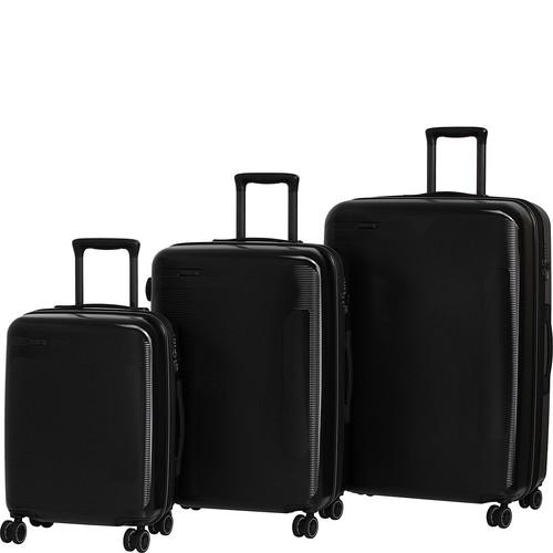 it luggage Autograph Hardside 8 Wheel 3 Piece Luggage Set