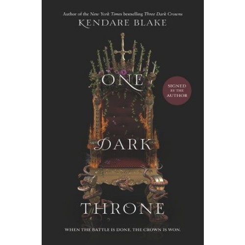 One Dark Throne Signed Edition (Target Exclusive) (Hardcover) (Kendare Blake)
