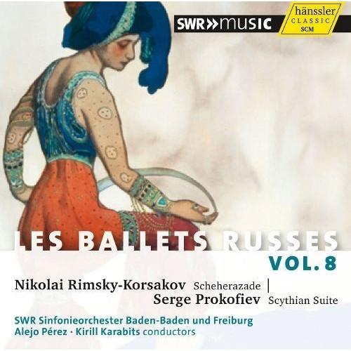Les Ballets Russes, Vol. 8 [CD]