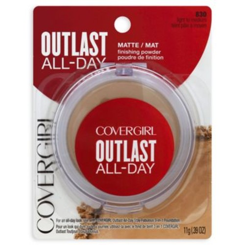 CoverGirl Outlast All-Day .39 oz. Matte Finishing Powder in Light to Medium