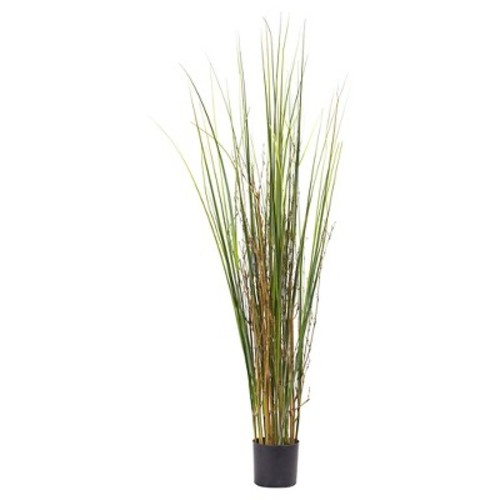 Grass and Bamboo Plant - Green (4