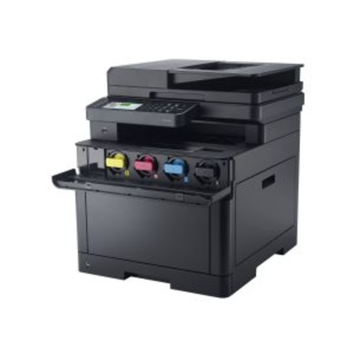 Dell Color Cloud Multifunction Printer H625cdw - Multifunction printer - color - laser - A4 (8.25 in x 11.7 in), Legal (8.5 in x 14 in) (original) - A4/Legal (media) - up to 25 ppm (copying) - up to 2