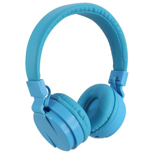 iLive Wireless Bluetooth Headphones - Blue