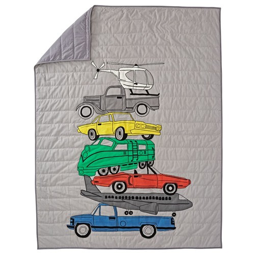 Full-Queen Traffic Jam Quilt