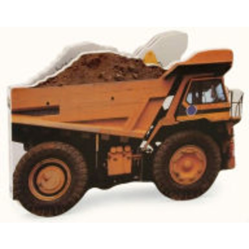 Diggers & Dumpers (Things That Go Shaped Board Books Series)