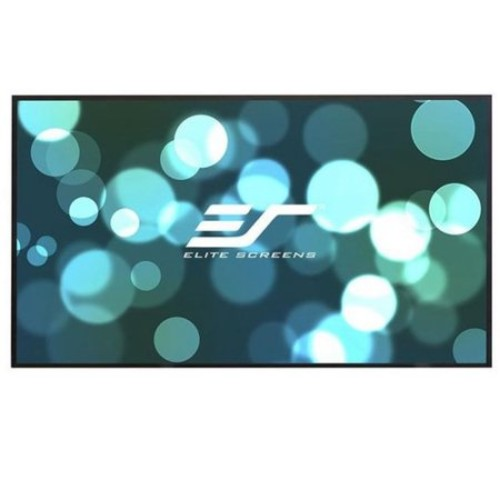 Elite Screens Aeon AR100DHD3 Fixed Frame Projection Screen - 100
