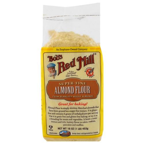 Bob's Red Mill, Super-Fine Almond Flour, Gluten-Free, 16 oz (453 g)