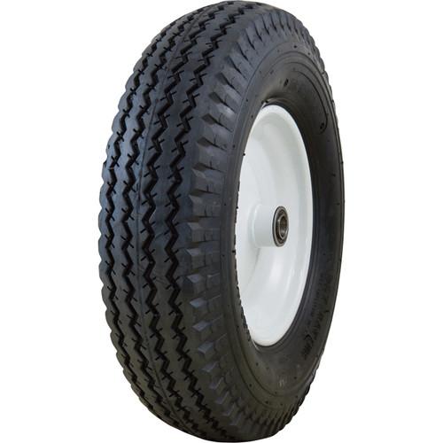 Marathon Tires Pneumatic Wheelbarrow Tire  3/4in. Bore, 4.80/4.008in.