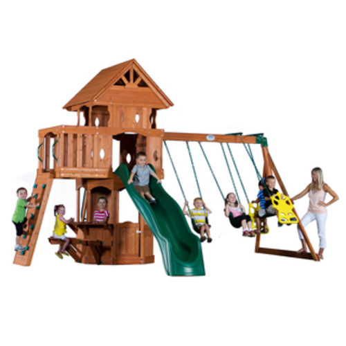 Backyard Discovery Monterey Cedar Swingset