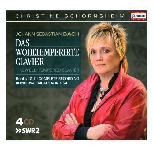 Bach: Das wohltemperirte Clavier, Books 1 & 2 [CD]