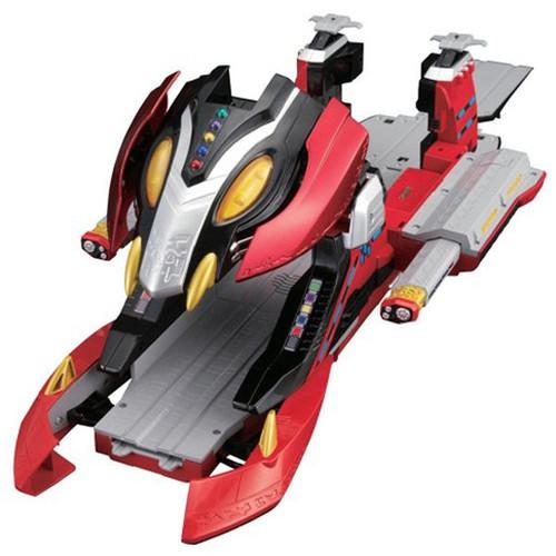 Kamen Masked Rider Den-O Action Liner Series 11 DX King Liner - multi