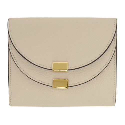 CHLOÉ Off-White Square Georgia Wallet