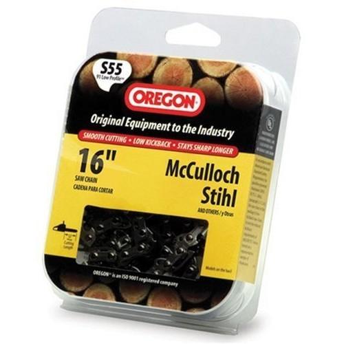 Oregon 16-Inch Semi Chisel Chain Saw Chain Fits McCulloch, Stihl S55