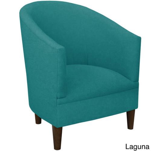 Skyline Furniture Linen Fabric Modern Accent Chair [option : Linen Grey]