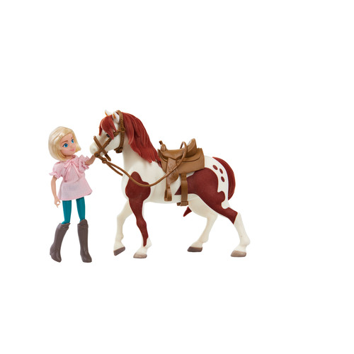 DreamWorks Spirit Riding Free Rider's Club Classic Abigail and Boomerang Set