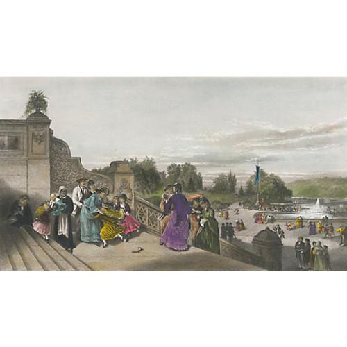 The Terrace, Central Park, 1874