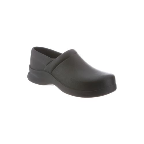 Klogs Footwear Men's Bistro Closed-Back Slip Resistant Work Shoe - Black [Width : Medium]