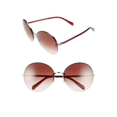 OLIVER PEOPLES Jorie 62Mm Semi Rimless Sunglasses