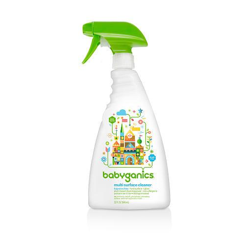 Babyganics Multi Surface Cleaner- Fragrance Free- 32 Ounce Spray Bottle