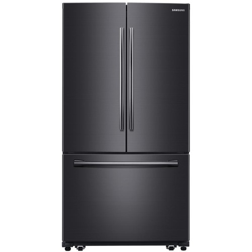 Samsung 25.5 cu. ft. French Door Refrigerator in Black Stainless Steel