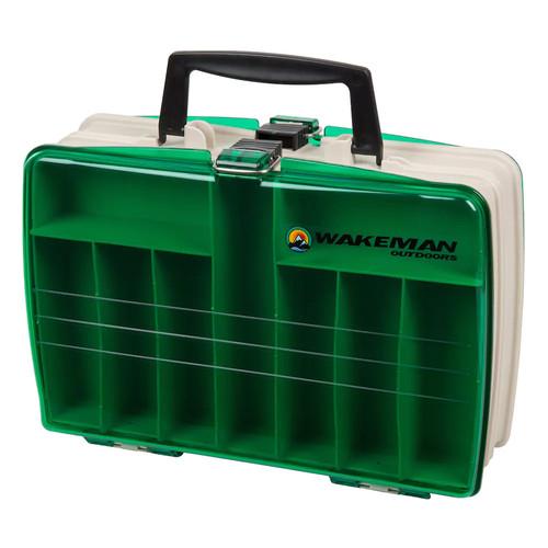 Wakeman Fishing Two-Sided Tackle Box