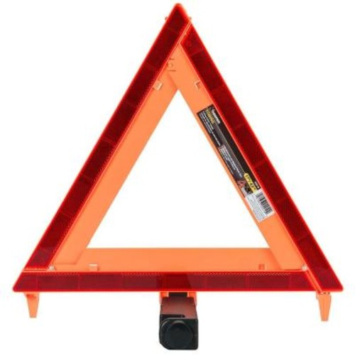 Keeper 17 in. Orange Folding Safety Triangle