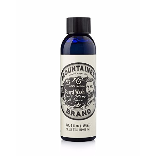 Beard Wash by Mountaineer Brand All-Natural beard shampoo - Cleans and Conditions
