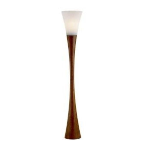 Adesso Espresso 68 in. Walnut Floor Lantern