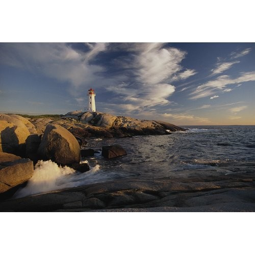Brewster Home Fashions National Geographic Lighthouse Shoreline Wall Mural