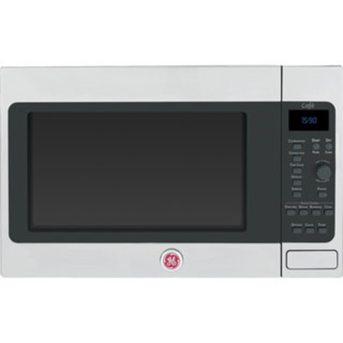 GE Cafe Series 1.5 cu. ft. Stainless Steel Countertop Microwave Oven