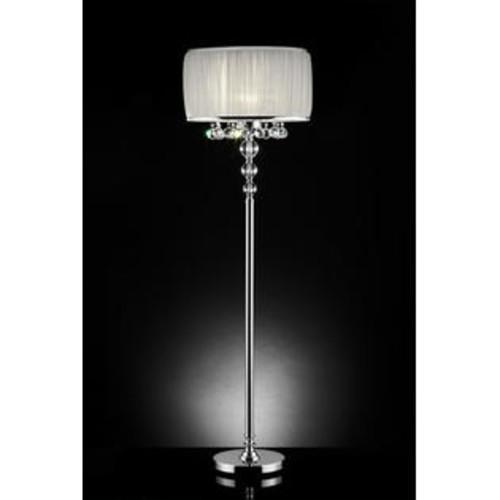 Ore International K-5139F 63 in. H Pure Essence Crystal Floor Lamp