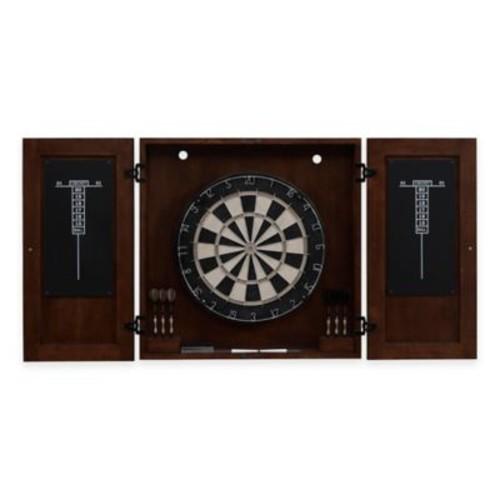 Turin Dartboard Cabinet Set