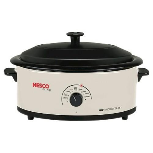 Nesco 6 Qt. Roaster Oven - White