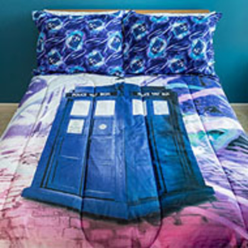 Doctor Who Sublimation Bedding Twin