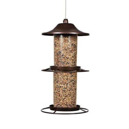 Perky-Pet Plastic Panorama Bird Feeder
