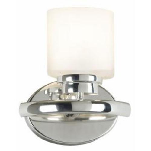 Kenroy Home Bow 1-Light Polished Nickel Sconce
